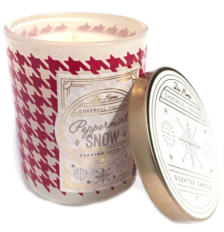 DW Home Peppermint Snow Christmas Candle - Mini