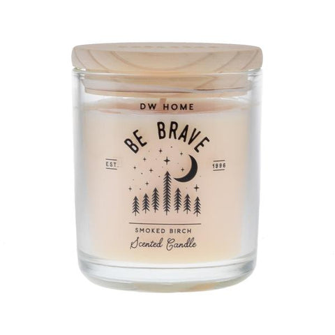 DW Home Be Brave Medium Woodwick 8.5oz Candle