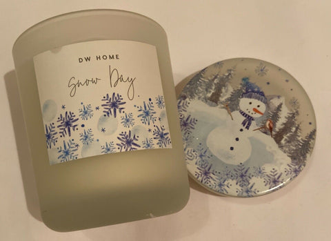 DW Home Snow Day Medium Candle