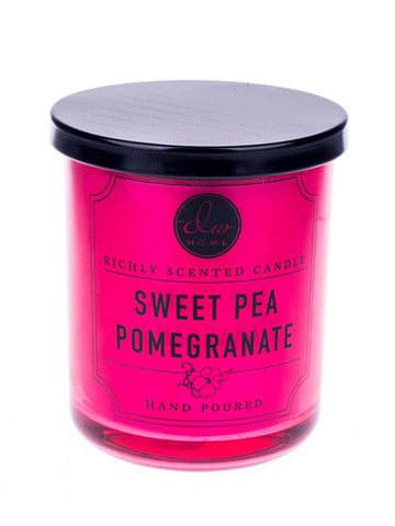 DW Home Sweet Pea and Pomegranate 3.8oz Mini Candle