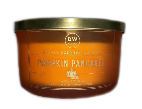 DW Home Pumpkin Pancakes Scented 3 Wick Candle