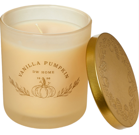 DW Home Vanilla Pumpkin Candle - Medium 264g