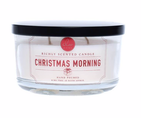 DW Home Christmas Morning Scented 3-Wick Candle