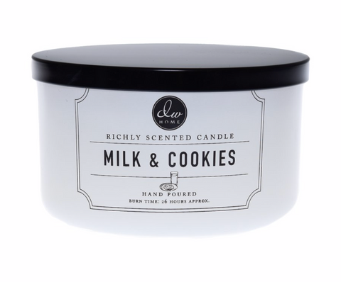 DW Home Milk & Cookies Scented 3-Wick Candle
