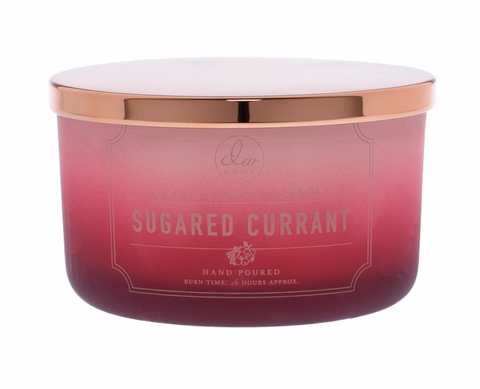 DW Home Sugared Currant 3 Wick Candle