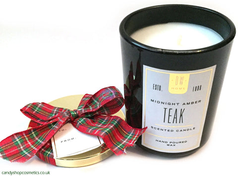 DW Home Midnight Amber Teak Gift Candle - Mini
