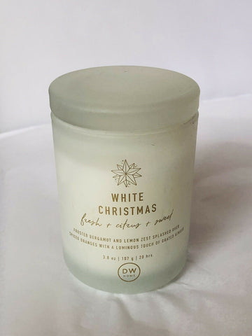 DW Home White Christmas Candle - Mini