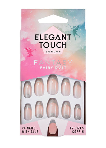 Elegant Touch Fairy Dust False Nails