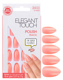 Elegant Touch Peach False Nails