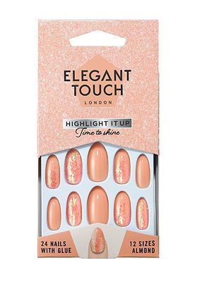 Elegant Touch Time to Shine False Nails