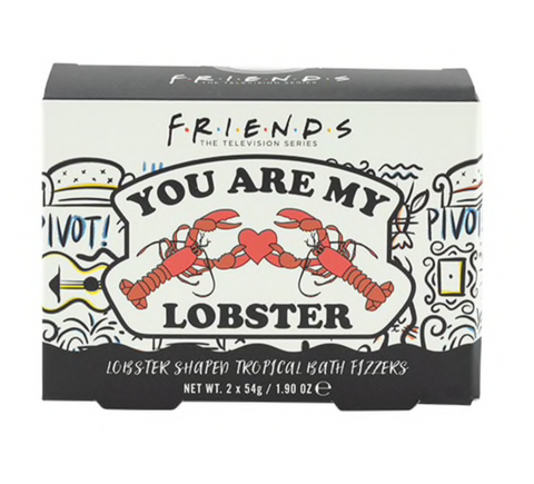 Friends You're My Lobster Bath Fizzers