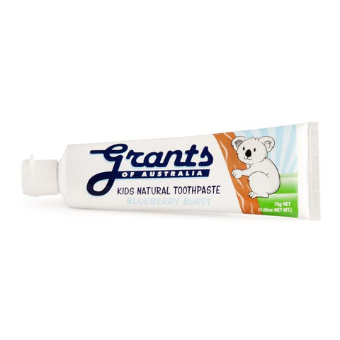 Grant's Natural Vegan Toothpaste - Blueberry Bust
