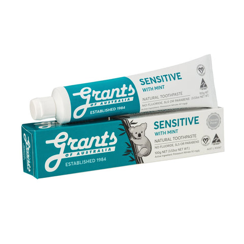 Grant's Natural Vegan Toothpaste - Sensitive