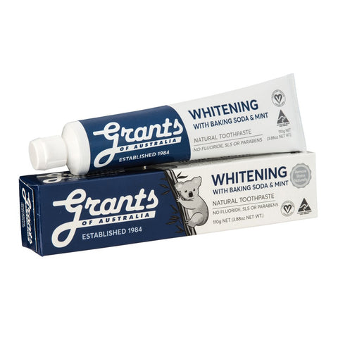 Grant's Natural Vegan Whitening Toothpaste