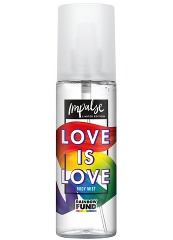 Impulse Fragrance Body Mist - Love is Love