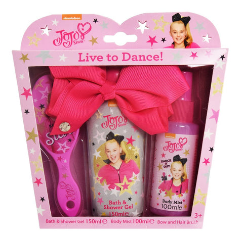 JoJo Siwa Live to Dance Bow and Fragrance Gift Set