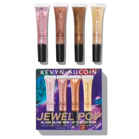 Kevyn Aucoin Jewel Pop Mini Gloss Set