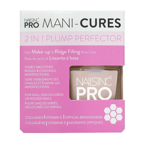 Nails Inc Nail Makeup and Ridge Filling Plump Perfector Base Coat