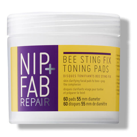 Nip + Fab Bee Sting Fix Toning Face Wipe Pads