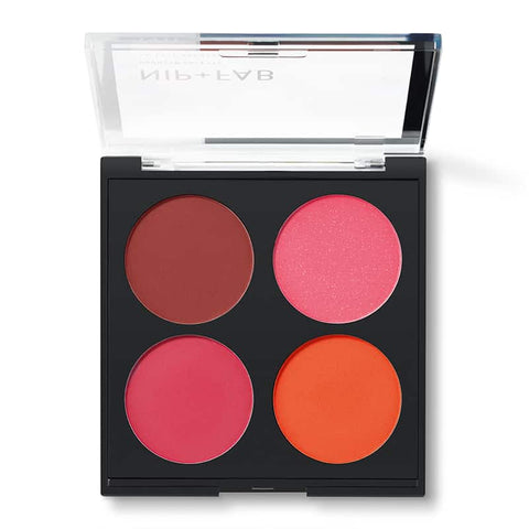 Nip + Fab Blusher Quad - 02 Brights