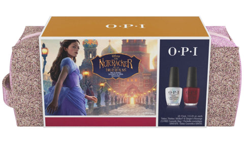 OPI 2018 Disney Nutcracker Nail Polish and Bag Gift Set