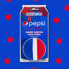 Pepsi Cherry Scented Bath Fizzer