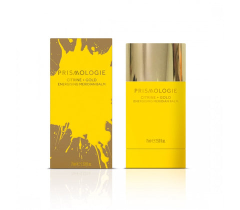 Prismologie Meridian Balm - Energising Citrine and Gold