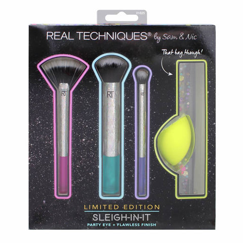 Real Techniques Sleigh In It Makeup Brush Gift Set