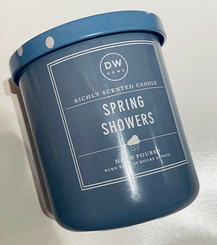 DW Home Spring Showers Candle - Medium Size