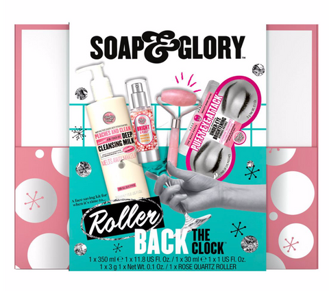 Soap and Glory Rose Quartz Roller Gift Set