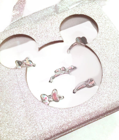 Disney Minnie Mouse 5 Ring Gift Set