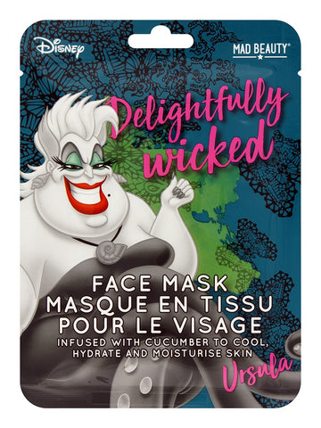Disney Villains Ursula Sheet Face Mask