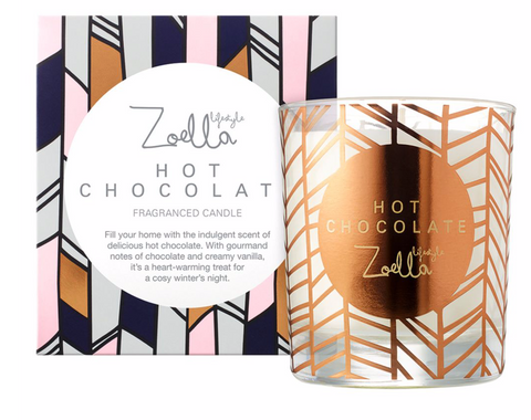 Zoella Hot Chocolate Scented Candle