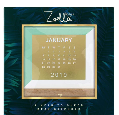 Zoella A Year to Cheer 2019 Calendar