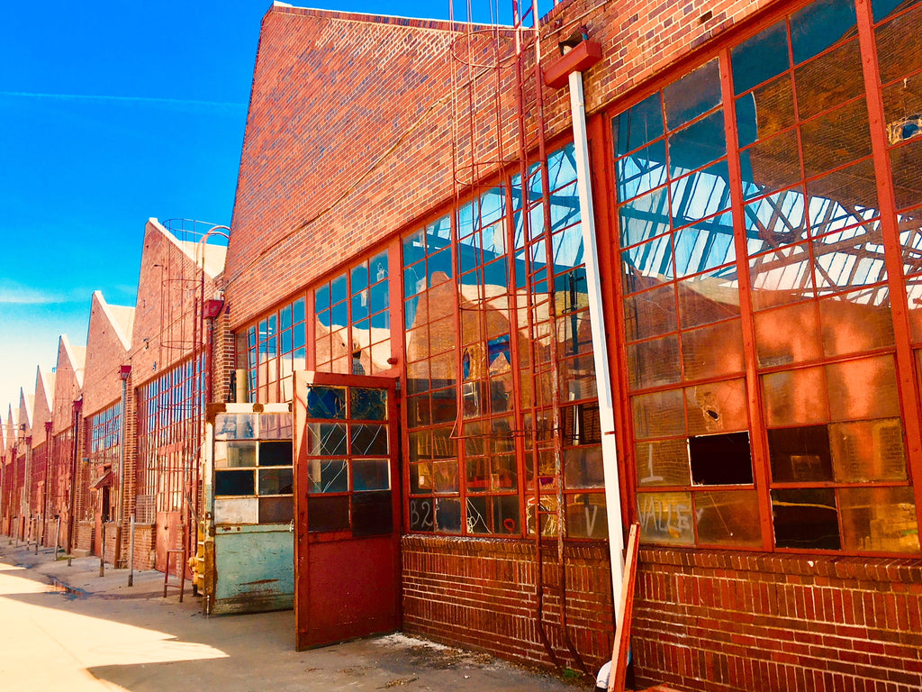 The Denver Rock Drill Factory Buildings