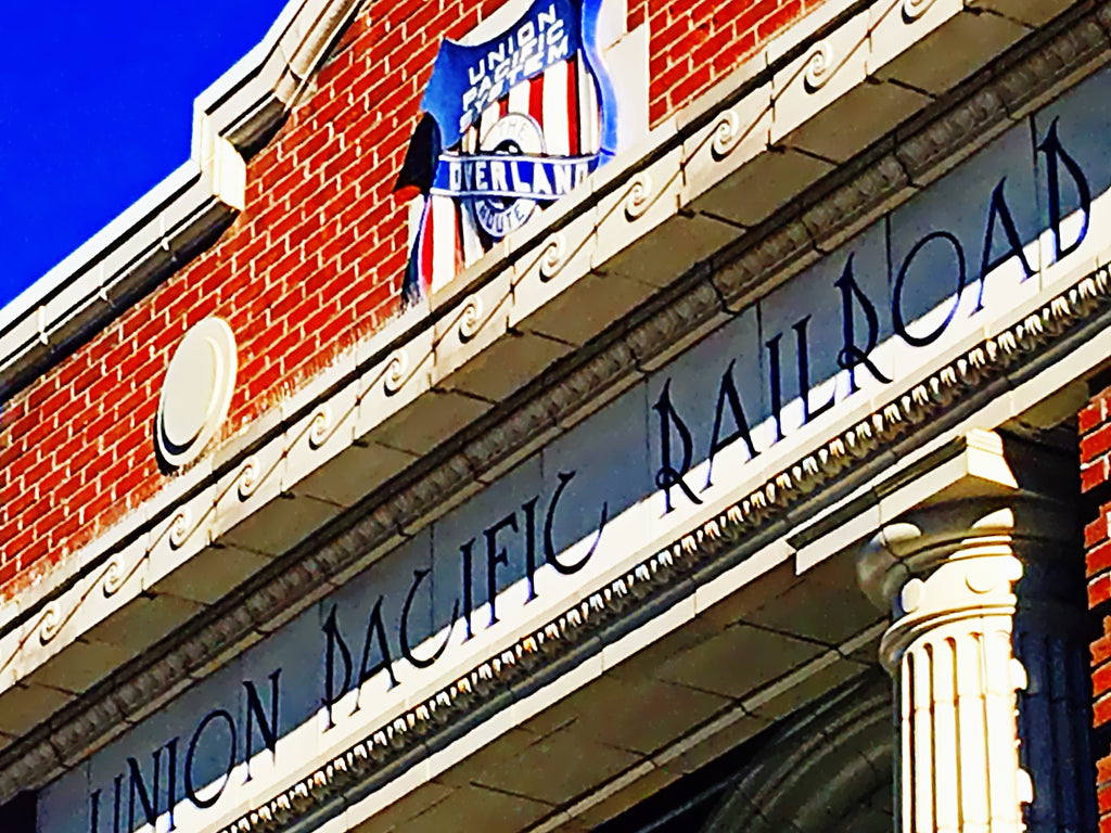 Union Pacific Railroad Building Downtown. Denver Colorado