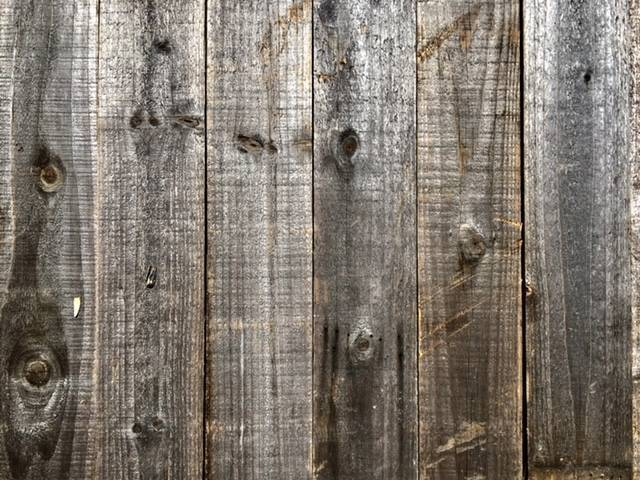 Accent Wall Cover Reclaimed Wood Grey PICK UP ONLY