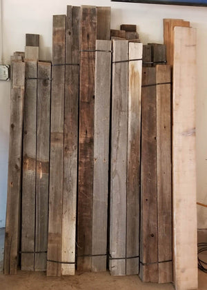 Reclaimed Wood Fencing  - Great for Accent Walls!