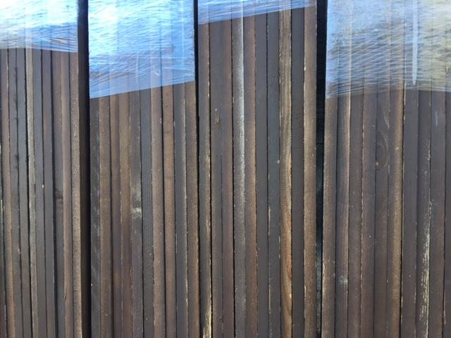 Accent Wall Cover Reclaimed Wood Brown FREE SHIPPING