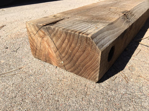 "Reclaimed Wood Beam 79"" x 8 1/2"" x 4 1/2"" SOLD"
