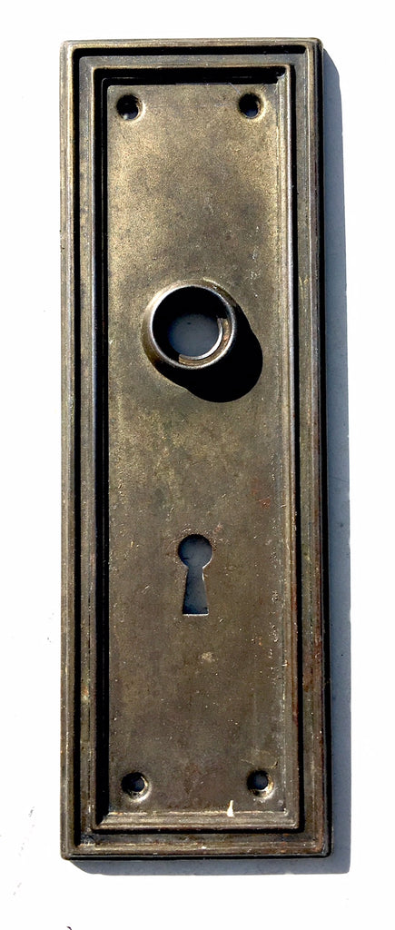 Antique Art Deco Door Plate