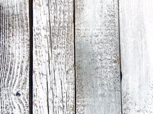 Accent Wall Cover Reclaimed Wood Rustic White FREE SHIPPING