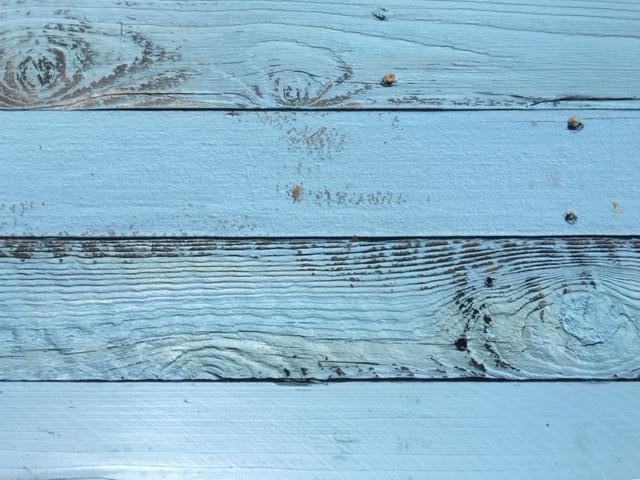 Accent Wall Cover Reclaimed Wood Rustic Light Blue PICK UP ONLY