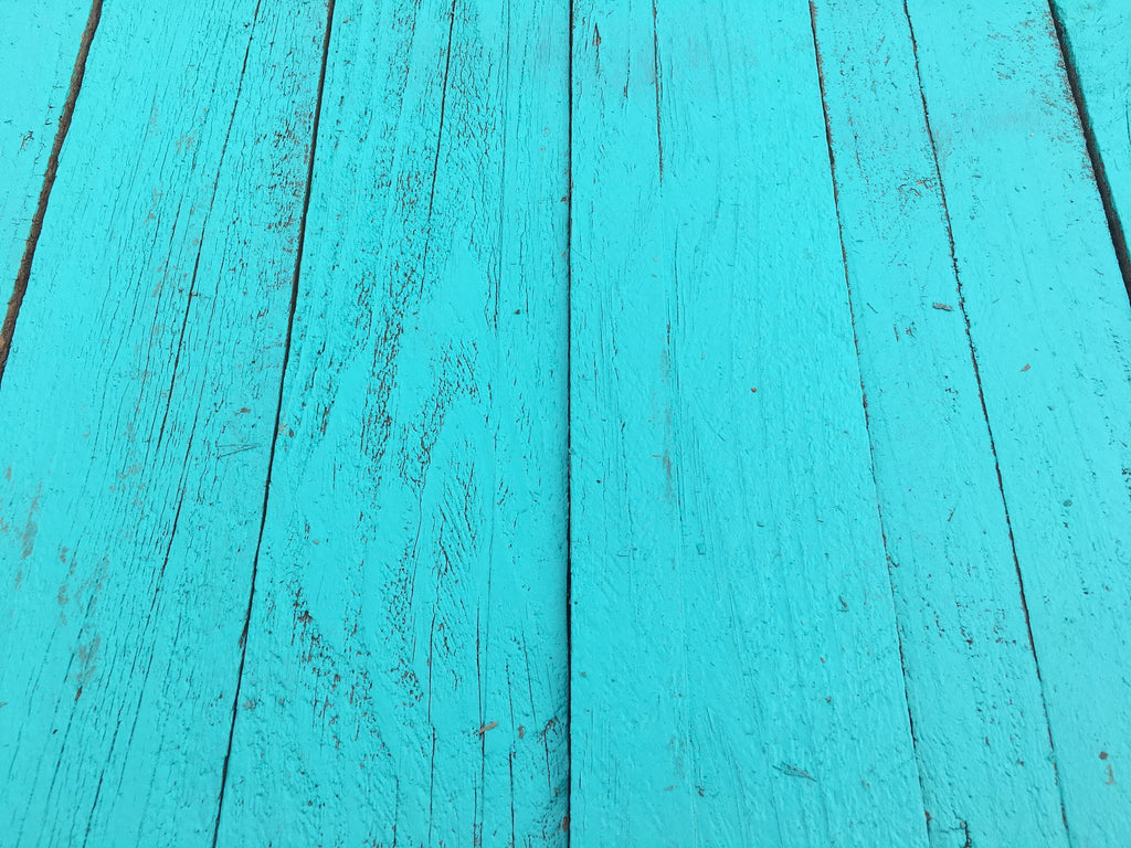 Teal Accent Wall Cover Reclaimed Wood FREE SHIPPING