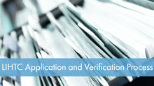LIHTC Series: 04 Application and Verification Process