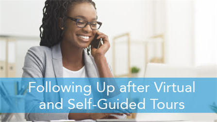E2L: Following Up after Virtual and Self-Guided Tours