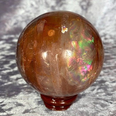 Crystal Spheres & Eggs - Crystal Inclusions