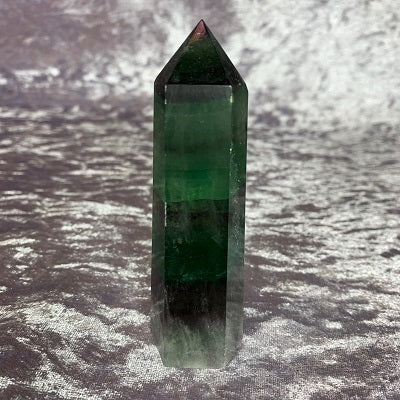 Fluorite Tower 125g Crystal Inclusions.
