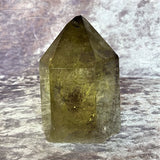 Citrine Tower 355g Crystal Inclusions.