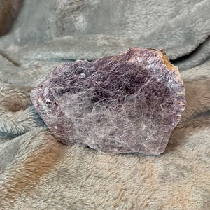 Purple Mica Specimen - Crystal Inclusions